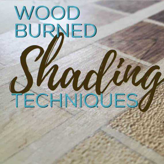 Wood Burning Shading Techniques